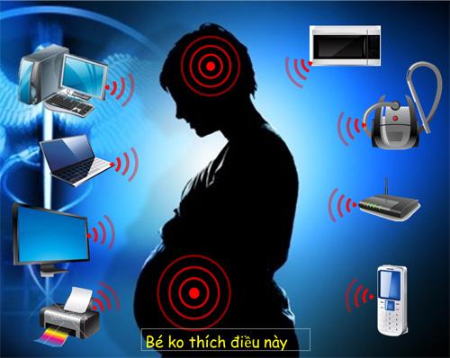 Khuyến cáo phụ nữ có thai tránh xa các thiết bị không dây