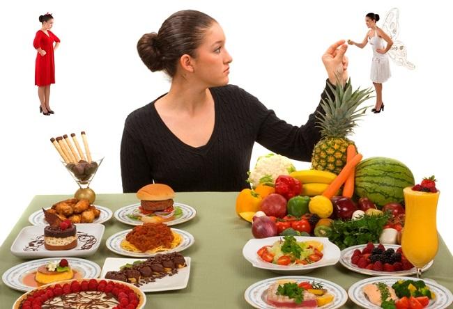 Ăn uống lành mạnh duy trì mức cân nặng đủ